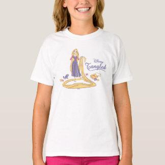 Rapunzel & Pascal Purple Pastels T-Shirt
