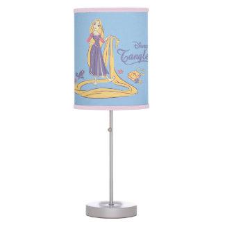 Rapunzel & Pascal Purple Pastels Table Lamp
