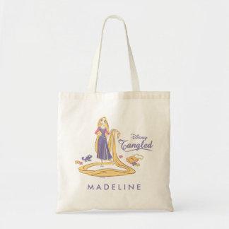 Rapunzel & Pascal Purple Pastels Tote Bag
