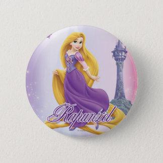 Rapunzel Princess 2 Inch Round Button