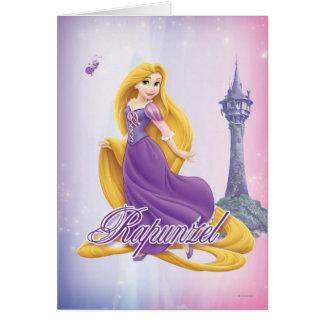 Rapunzel Princess Card