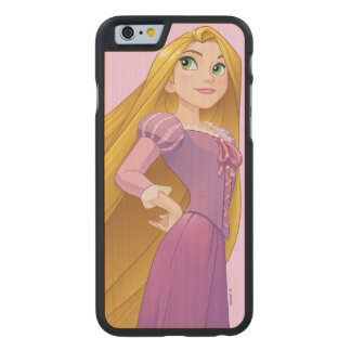 Rapunzel | Princess Power Carved® Maple iPhone 6 Case