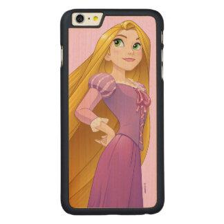 Rapunzel | Princess Power Carved Maple iPhone 6 Plus Case