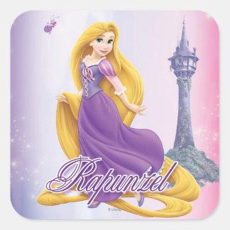 Rapunzel Princess Square Sticker