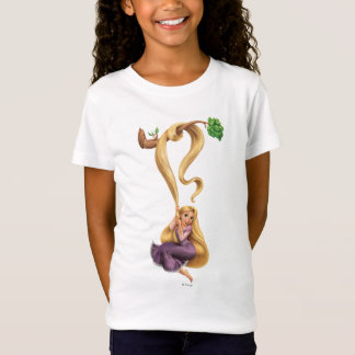 Rapunzel Swinging from Branch 2 T-Shirt