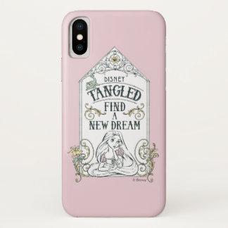 Rapunzel   Tangled - Find a New Dream iPhone X Case