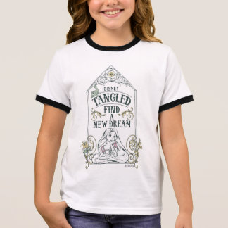 Rapunzel | Tangled - Find a New Dream Ringer T-Shirt