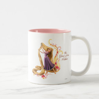 Rapunzel - The Glow's from Within Two-Tone Coffee Mug