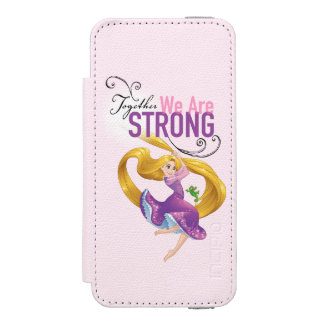 Rapunzel | Together We Are Strong Incipio Watson™ iPhone 5 Wallet Case