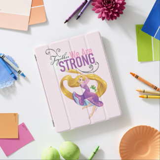 Rapunzel | Together We Are Strong iPad Cover