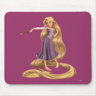Rapunzel with Paintbrush 2 Mouse Pad