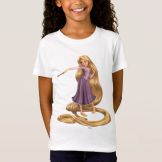 Rapunzel with Paintbrush 2 T-Shirt