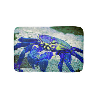 Rare Blue Crab Bath Mat