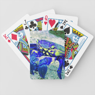 Rare Blue Crab Bicycle Playing Cards