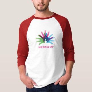 Rare Disease Day 3/4 Sleeve Raglan T-Shirt