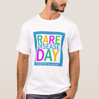 Rare Disease Day (customization available) T-Shirt