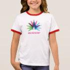 Rare Disease Day Girl's Ringer T-Shirt