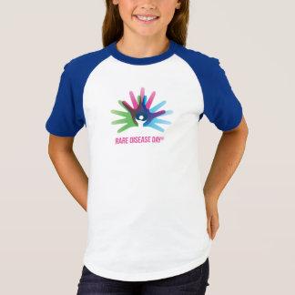 Rare Disease Day Short Sleeve Raglan T-Shirt