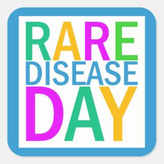 Rare Disease Day sticker sheet