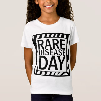 Rare Disease Day (zebra) T-Shirt