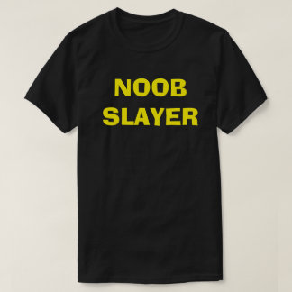 Rare Gold Noob Slayer Graphic Tee