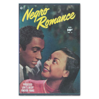 Rare Golden Age Romance Comic Tissue Paper