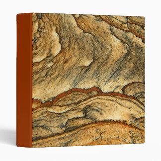 Rare landscape jasper closeup binders
