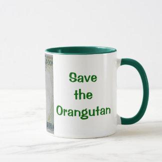 Rare Orangutan Money Mug