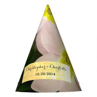 Rare Pink Primrose Wedding Party Hat