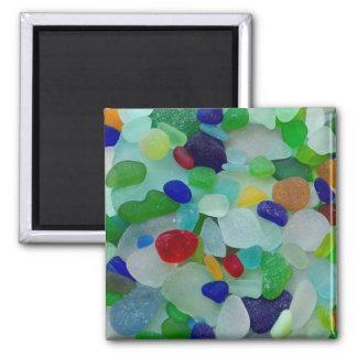 Rare sea glass, beach magnet