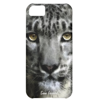 Rare Snow Leopard Big Cat Wildlife iPhone 5 Case