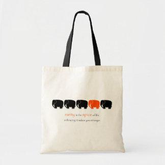 Rare Spice Elephant Budget Tote Bag