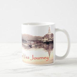 Rare Visa Journey Inle Lake (Burma) mug