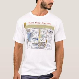 Rare Visa Journey Visa Collage Shirt