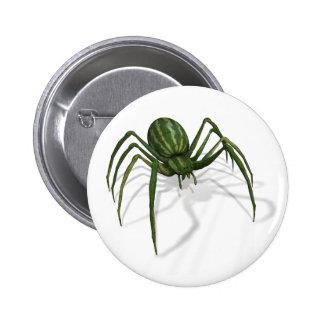 Rare Watermelon Spider 2 Inch Round Button