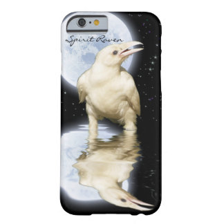 Rare White Raven & Moon Fantasy Case