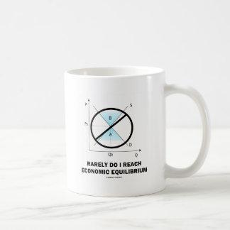 Rarely Do I Reach Economic Equilibrium (Economics) Coffee Mug