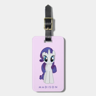 Rarity | Believe In The Magic Of Unicorns Luggage Tag