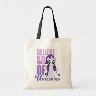 Rarity | Believe In The Magic Of Unicorns Tote Bag