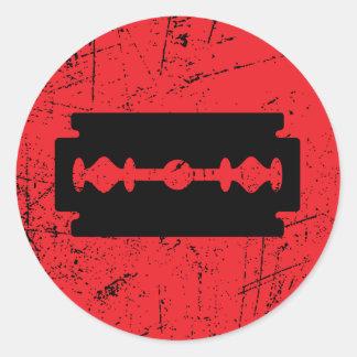 Rarxh - These Bleeds Mark Classic Round Sticker