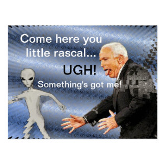 Rascal Alien Postcard