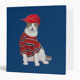 Rascal Kitty School Binder
