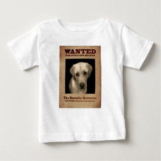 Rascally Retriever, aka Yellow Lab Baby T-Shirt