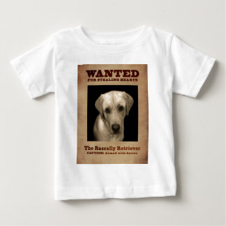 Rascally Retriever, aka Yellow Lab Baby T-Shirt