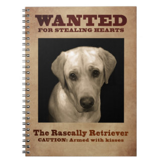 Rascally Retriever, aka Yellow Lab Notebook
