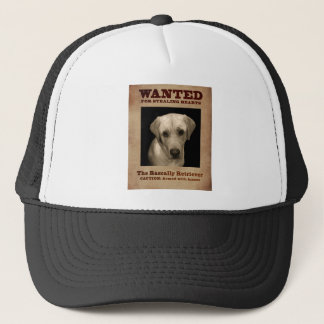 Rascally Retriever, aka Yellow Lab Trucker Hat