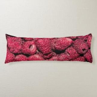 Raspberries Body Pillow
