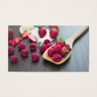 Raspberries Business Card