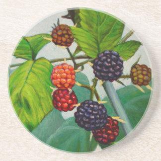 Raspberries Coaster