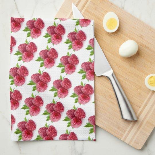 Raspberries Hand Towels